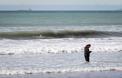 20180921_5250_7D2-280 Surfing (or Texting) in the Surf (264/365) (johnstewartnz) Tags: 264365 day264 onephotoaday oneaday onephotoaday2018 365project project365 canon canonapsc apsc eos 7d2 7dmarkii 7d canon7dmarkii canoneos7dmkii canoneos7dmarkii 70200mm 70200 70200f28 canonef70200f28l texting beach seenonthebeach