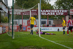 Altrincham FC vs Whitley Bay FC - September 2018-198 (MichaelRipleyPhotography) Tags: altrincham altrinchamfc altrinchamfootballclub alty ball community facup facup2qr facup2ndqualifyinground fans football footy goal header jdavidsonstadium kick mosslane nationalleaguenorth nonleague pass pitch referee robins save score semiprofessional shot soccer stadium supporters tackle team whitleybay whitleybayfc