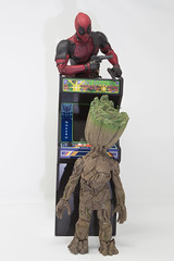 I got next (katsuboy) Tags: centipede atari newwavetoys arcade videogames groot babygroot hottoys deadpool marvel
