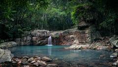 Rope Falls, Mt Halifax, Townsville Australia. (lynamPics) Tags: 5dmkiv ropefalls leefilters longexposure townsville waterfall zeiss