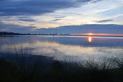 [000220]copy (kennethbaker177) Tags: jacksonville ortega baker point river florida fl sun rise park westside water color sky line still calm