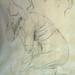 DEGAS Edgar,1860-62 - Sémiramis construisant Babylone, Etude (Louvre RF15526) - Detail 02