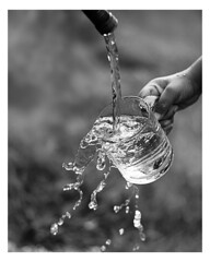 My cup runneth over (Anthony. B) Tags: nikon d7000 cup water splashphotography splash kids hose outside outdoors blackandwhite bw 50mm18g commercialphotography photographer