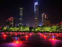Haixinsha, the central axis of Guangzhou city (qlin zhang) Tags: guangzhou axis central city haixinsha night 商业 建筑 建筑摄影 珠江 tianhe cbd