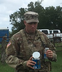 A Can of Jalepenos  washed down with a Bull   NCO pick_me_up_SEP18.jpg (militarysciencealumniclub) Tags: military science alumni club