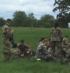 Cadets take a break SEP18.jpg (militarysciencealumniclub) Tags: military science alumni club