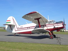HA-ANG Antonov An-2P (c/n 1G132-53) Kemble (andrewt242) Tags: haang antonov an2p cn 1g13253 kemble