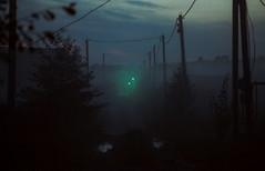 Fog #3 (28/100x) (vitalyperov) Tags: fog road night film expiredfilm 35mm 135mm pentax jupiter37a