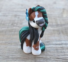 May  - tiny pony 2018 (Sweet Friends by Elisabete Santos) Tags: polymerclay handmade sculpture art ponies swarovski sweetfriends swetfriendses sweetfriendses