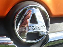 801 Aixam Badge - History (robertknight16) Tags: aixam france microcar badge badges automobilia himley