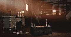 witch's cottage (RyanTailor (Taking Clients)) Tags: indoor witch halloween house cottage backdrop minimal thearcadegacha thearcade arcade gacha event buildersbox dahlia refuge raindale deco decor decoration interiour spooky ghost future virutal virtualwoirld secondlife