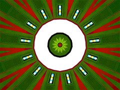 One Hundred Thirty One (Kombizz) Tags: c394 kombizz kaleidoscope experimentalart experimentalphotoart photoart epa samsung samsunggalaxy fx abstract pattern art artwork red white green onehundredthirtyone 131 onehundred31 100thirtyone
