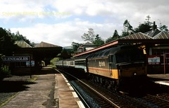 Gleneagles late 1980's (Ernies Railway Archive) Tags: gleneaglesstation lms cr scotrail