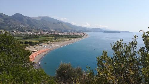 Castrocucco beach, Praia a Mare and Dino island