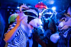 DSC08240 (Kory / Leo Nardo) Tags: frolic party frolicparty fur furry fursuit fursuiting sona fursona sanfrancisco california bar club theeaglebar eagle 2018 dance dj pupleo