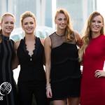 Kiki Bertens, Elina Svitolina, Petra Kvitova, Caroline Wozniacki