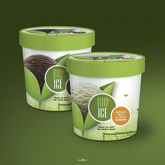 bio ice cream (locolime creations) Tags: design designer creation creative creator icecream package packaging advertising adv promotion promo production products foods commercial company