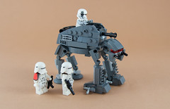 AT-M6 / Microfighter (Boba-1980) Tags: episode8 luke microfighter boba1980 atat starwars star skywalker wars atm6 crait roguebricks afol lego microfighters leia pilot