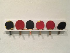 ping pong (rotabaga) Tags: sverige sweden göteborg gothenburg göteborgskonstmuseum iphone konst art