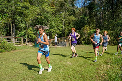 FLO05943 (chap6886@bellsouth.net) Tags: running run race girls boys team trees lake athletes action athletics america xc 5k highmiddleschool highschool