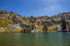 BareIslandLake1Sept1-18 (divindk) Tags: bareislandlake california maderacounty sierranationalforest backpacking camping granite lake quiet reflection serene trees