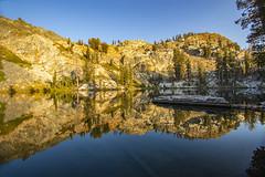 BareIslandLake6Sept1-18 (divindk) Tags: bareislandlake california maderacounty sierranationalforest backpacking camping granite lake quiet reflection serene sunlight sunset