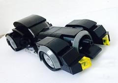 1989 Batmobile. (craigslegostuff) Tags: lego moc dc comic comics movie batman batmobile car vehicle superhero superheroes joker timburton 1989 rebrickable