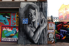 Shoreditch Street Art by Sam King (scats21) Tags:
