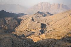 Wadi Bani Auf (Matthijs Hollanders) Tags: oman arabia matthijshollanders landscape tamron35mm 35mm tamron nikon d750 nikond750 mountains hajarmountains wadibaniauf wadibaniawf wadi bani auf sunset goldenhour