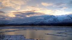 Slush in Valdez Bay (Katy on the Tundra) Tags: valdez chugachmountains