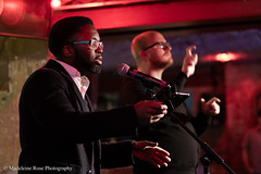 Jacob Sam-La Rose & Adrian Bailey (Penned in the Margins) Tags: perseverance poetry spoken word poet performance shoreditch hackney raymond antrobus bsl sign language deaf book launch books publishing poetic poem