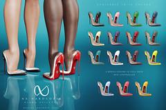 NX-Nardcotix Diana Stiletto (Nardcotix) Tags: nxnardcotix nardyarousselot belleza maitreya vanity diana pvc patentleather mesh heels pumps shoes seethrough stilettos autumn footwear sexy cute chic girly modern