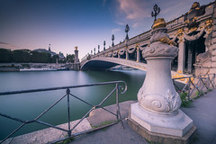 Glory of elegance (Sizun Eye) Tags: elegance pontalexandreiii bridge seine river paris ornaments france monument unesco worldheritage sizuneye nikond750 nikon1424mmf28 nisifilters city