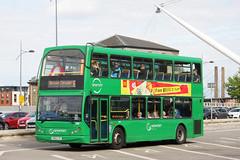Newport Bus 438 LR52 LYC (johnmorris13) Tags: newportbus lr52lyc transbus trident eastlancs myllennium lolyne bus