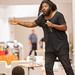 New York Times best-selling author Jason Reynolds at HCLS East Columbia Branch.