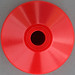 45rpm adapter - red