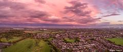 Autumn sunset (Steve Samosa Photography) Tags: sunset autumn merseyside rainhill prescot whiston redsky skyline cloudy england unitedkingdom gb dronecamera drone droneshot droneview aerialview aerialphotography aerialshot
