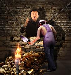 Montresors & Fortunato (jaci XIII) Tags: cripta catacumba pessoa homem emparedamento vingança crypt catacomb person man walling revenge