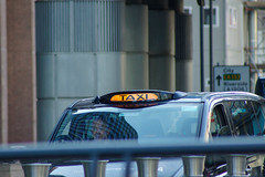 Taxi at Canary Wharf - London UK (erengun3) Tags: canarywharf london canary wharf reuters londra transport for