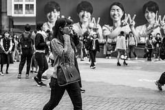 She Can See Clearly Now That The Rain Is Gone (burnt dirt) Tags: asian japan tokyo shibuya station streetphotography documentary candid portrait fujifilm xt1 bw blackandwhite laugh smile cute sexy latina young girl woman japanese korean thai dress skirt shorts jeans jacket leather pants boots heels stilettos bra stockings tights yogapants leggings couple lovers friends longhair shorthair ponytail cellphone glasses sunglasses blonde brunette redhead tattoo model train bus busstation metro city town downtown sidewalk pretty beautiful selfie fashion pregnant sweater people person costume cosplay boobs