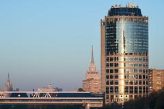 QWZ04217 (qwz) Tags: hartbleimc28150mm hartblei150mm skyscraper москва moscow architecture river bridge cityscape