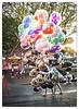 Walking Balloons (klmnop1967) Tags: balloons walking disney disneyland sunset