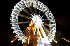 Ferriss  Wheel ,Budapest (misi212) Tags: zoom effect long exposure ferriss wheel budapest