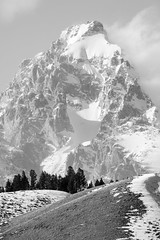 Grand Teton National Park, Wyoming. March, 2018. (Guillermo Esteves) Tags: blackandwhite unitedstates jackson wyoming nationalparks fujifilm fujifilmxt2 grandteton grandtetonnationalpark blacktailbutte landscapes us
