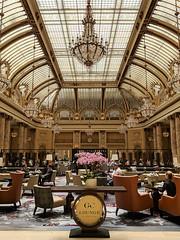 Palace Hotel - GC Lounge (Joey Hinton) Tags: sanfrancisco california unitedstates palace hotel google pixel2 andriod smartphone cellphone cameraphone phone