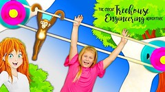 The Assistant explores the Thames and Kosmos Peppermint Treehouse Fun STEM Educational Fun (benhxuongkhopvn) Tags: children familychannel familyfun familyfunforeveryone kid tefkids tefk theengineeringfamily toy