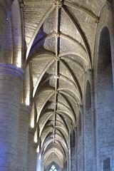 Tewkesbury Abbey (carolyngifford) Tags: tewkesburyabbey tewkesbury columns vaulting