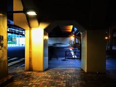Tokyo (Meg Kamiya) Tags: tokyo japan tunnel colour city olympus omd em10