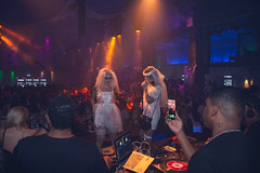 """Halloween @ """"Die Halle Tor 2"""" (damjan_savic) Tags: quality equipment work week wild world expression europe event exposure emotion effect exclusive eyes experience explore relax time party cologne germany fun nikon d7200 apsc frame camera nightlife photography damjan savic image professional press photographer beauty people location october 2018 gallery"""