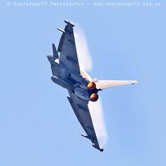 0151 Typhoon (photozone72) Tags: yeovilton yeoviltonairday airshows aircraft airshow aviation jets canon canon7dmk2 canon100400f4556lii 7dmk2 raf typhoon raftyphoondisplay eurofighter